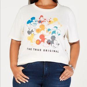 Disney Mighty Fine Mickey Mouse T Shirt Sz:2X